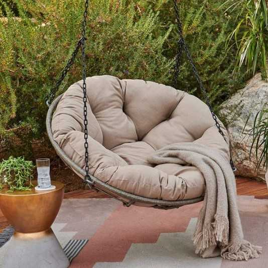 Hanging Wicker Papasan Chair