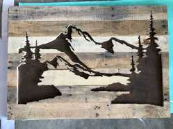 Repurposed Wood Wall Art0013