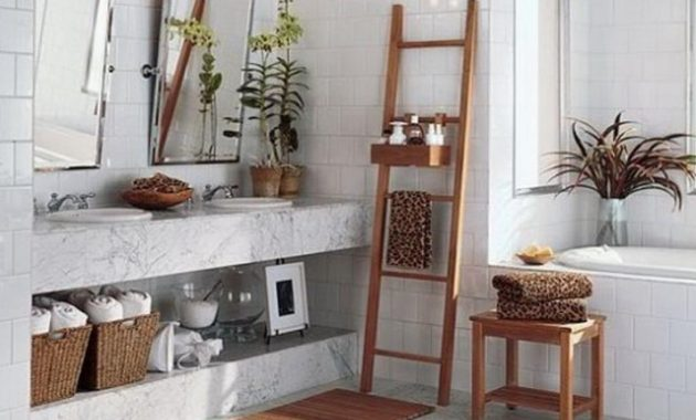 Farmhouse Bathroom Cabinet Organization Ideas