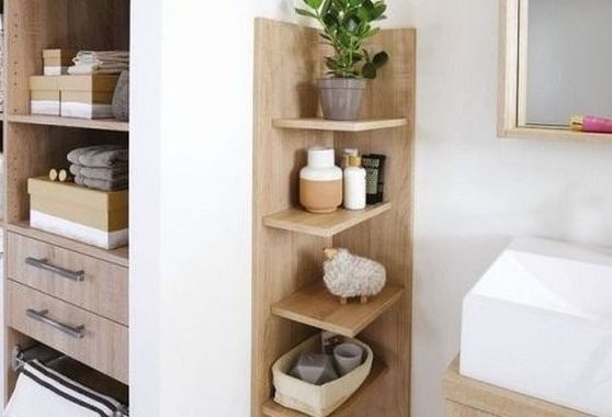 A Comfortable Wooden Shelving