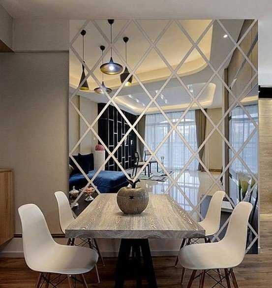 Wall Decal Is Made From Acrylic Mirrors Is Lighter Than Usual Mirrors You Can Arrange It Anywhere In The Room