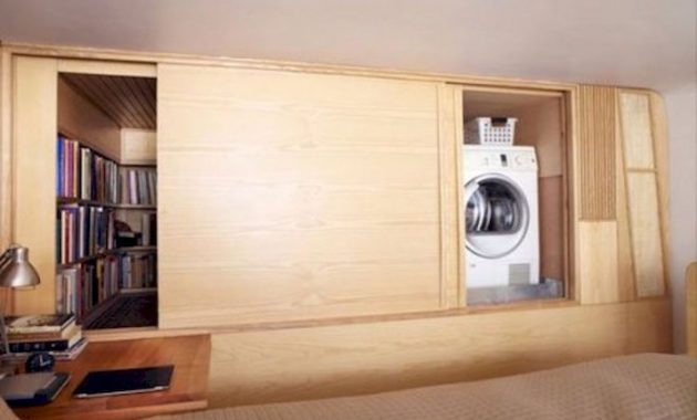 Creative Ways To Hide A Washing Machine In Your Home 15 554x369