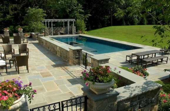 A Huge Rectangle Pool On A Massive Propertya Huge Rectangle Pool On A Massive Property