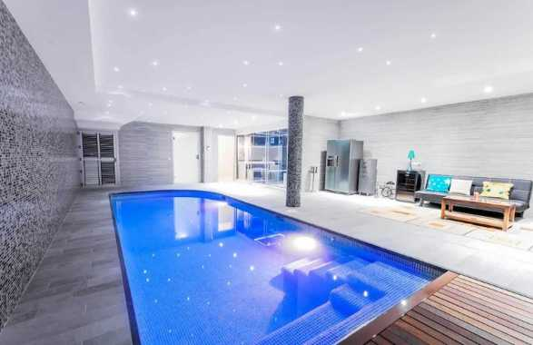 Indoor Swimming Pool Is In A Huge Area Of The Property