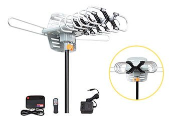 10 Best Outdoor TV Antennas in 2019 Reviews + Guide
