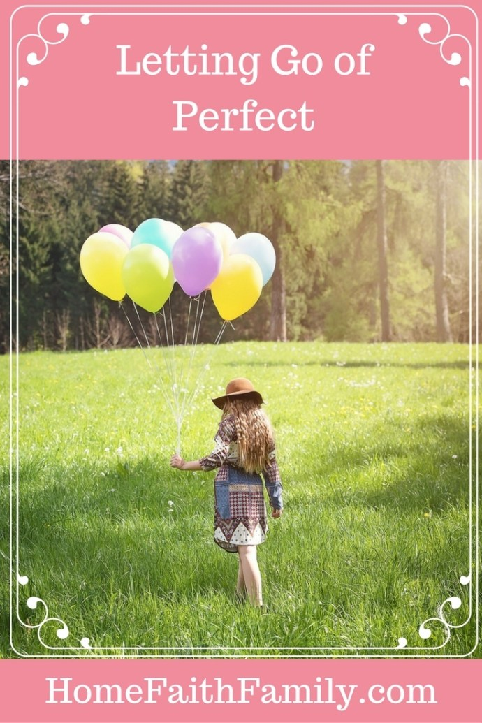 """Do you ever feel weighed down by the burden of always feeling like you have to be perfect? I will be the first to admit, I am a perfectionist. Read on to discover what I learned about what being """"perfect"""" really means. Click to read."""