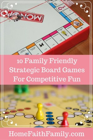 10 Family Friendly Strategic Board Games for Competitive Fun | Are you looking for a creative way to encourage teenagers and adults alike to put down their phones and interact with each other? Then you definitely need to play one of these family friendly strategic board games. Click to read.
