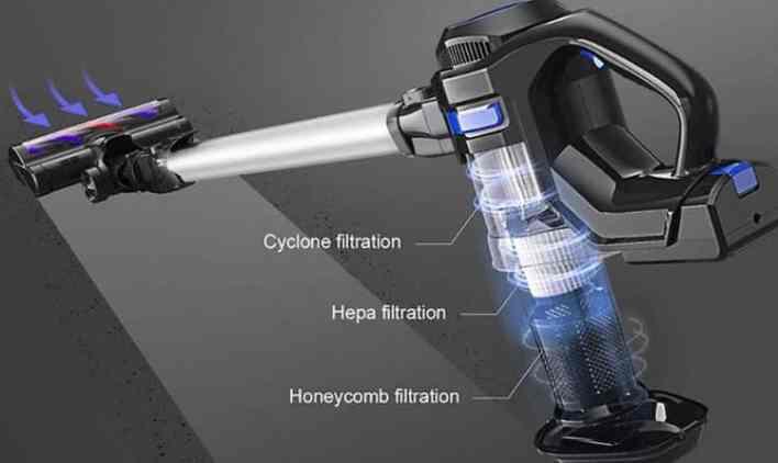 MOOSOO X6 Vacuum design2