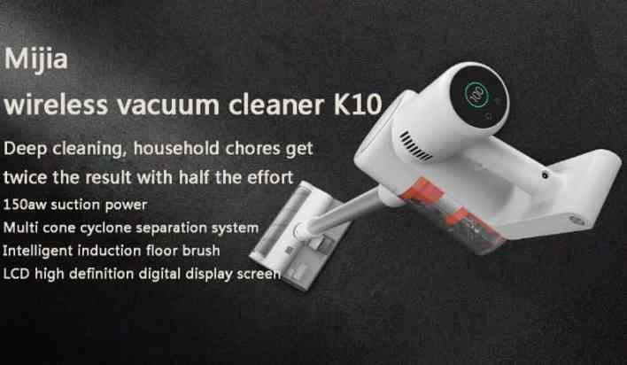 Xiaomi Mijia K10 Vacuum design