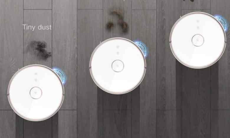 VIOMI S9 Robot Vacuum design3
