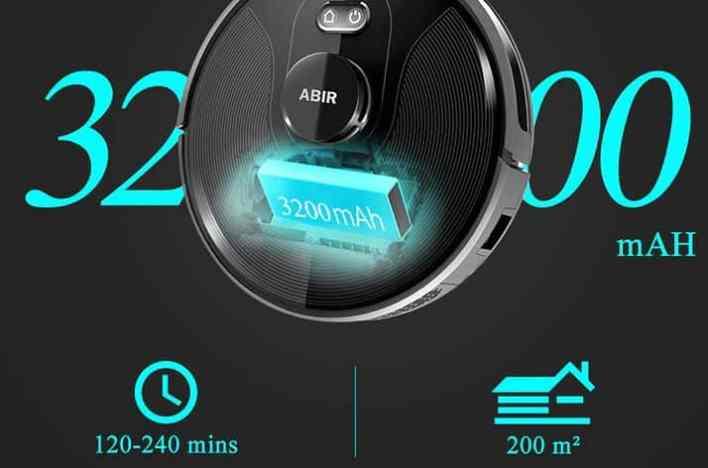 ABIR X8 Robot battery2