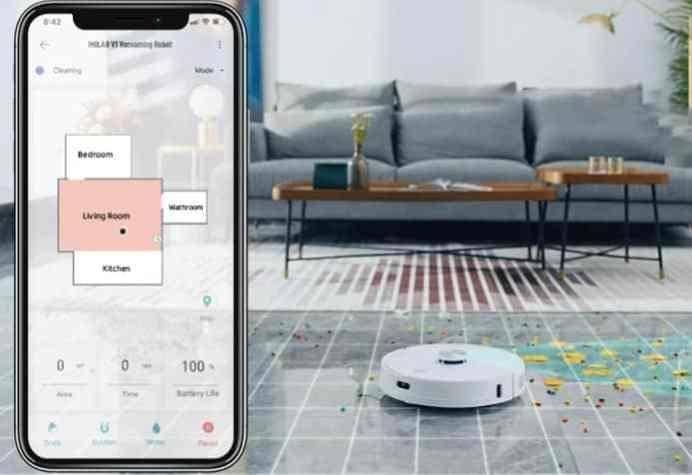 IMILAB V1 Robot Vacuum feature2