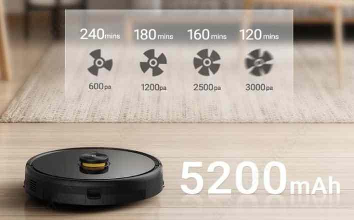 TechLife Robot Vacuum battery