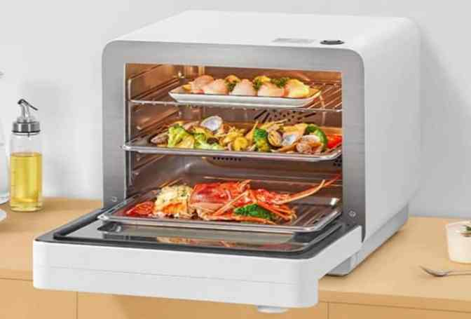 Xiaomi Mijia Smart Oven design