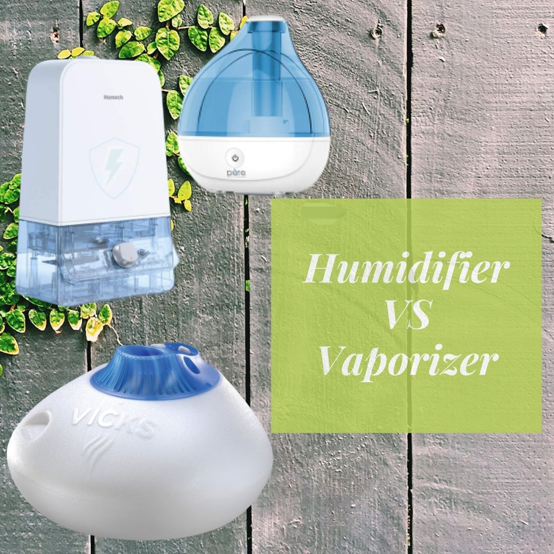 Difference Between Humidifier and Vaporizer   Which one ...