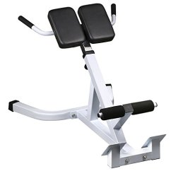 Commercial Gym Roman Chair Steelcase Instructions Yaheetech 45 Degree Hyperextension Back Exercise Bench Home