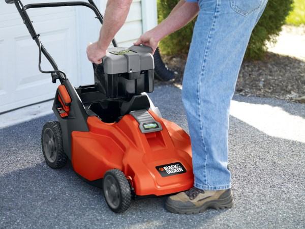 Black & Decker Cm1936 Cordless Lawn Mower