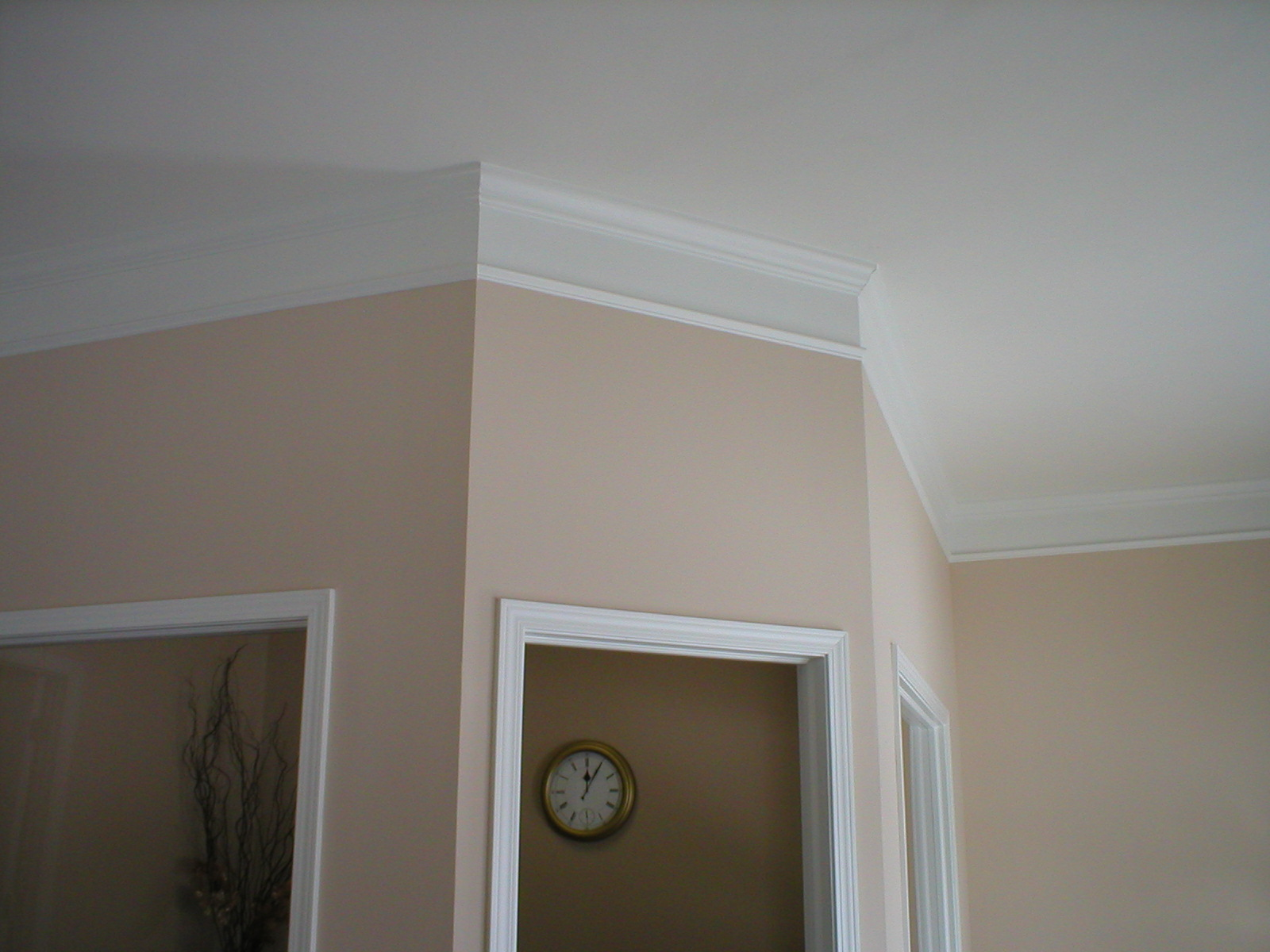 where to nail chair rail ergonomic lahore stacked crown moulding how-to
