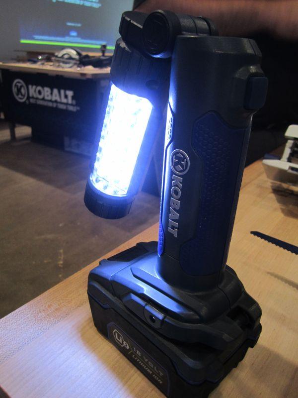 Kobalt Lithium work light