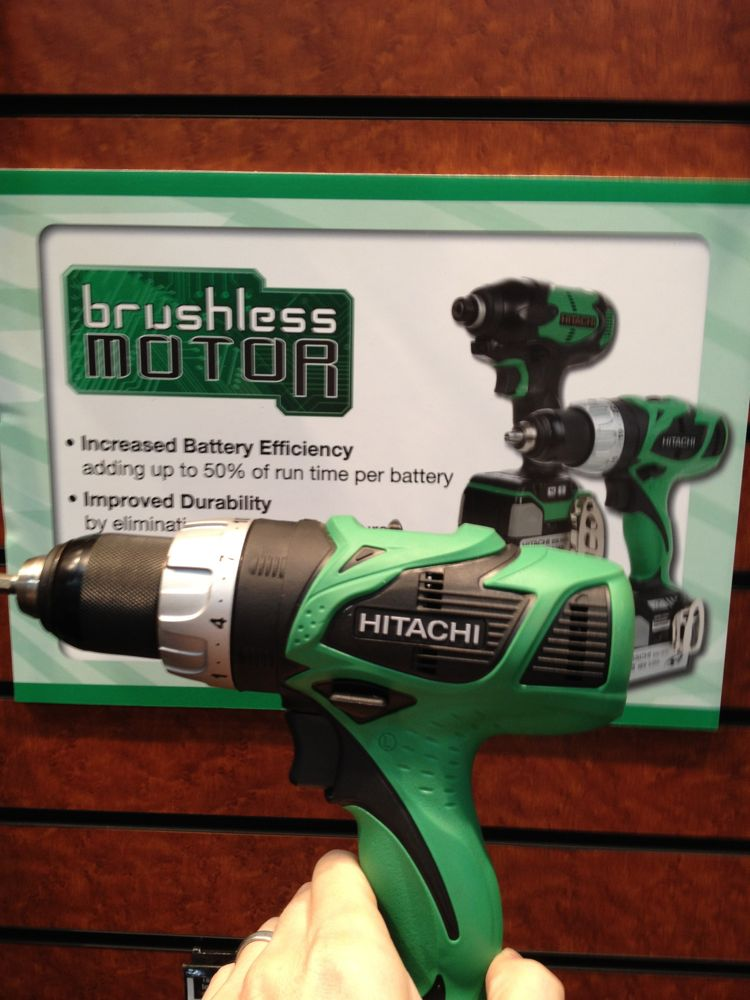 hitachi brushless drill