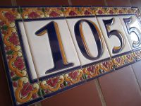 Mission Style House Number Tiles on Your Spanish Revival ...