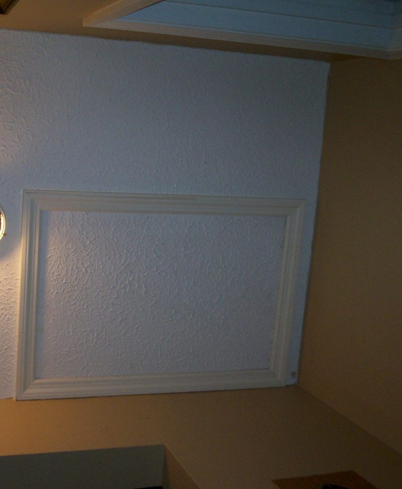 You'll need a separate attic access to get through to the other side of a cathedral crawlspace.