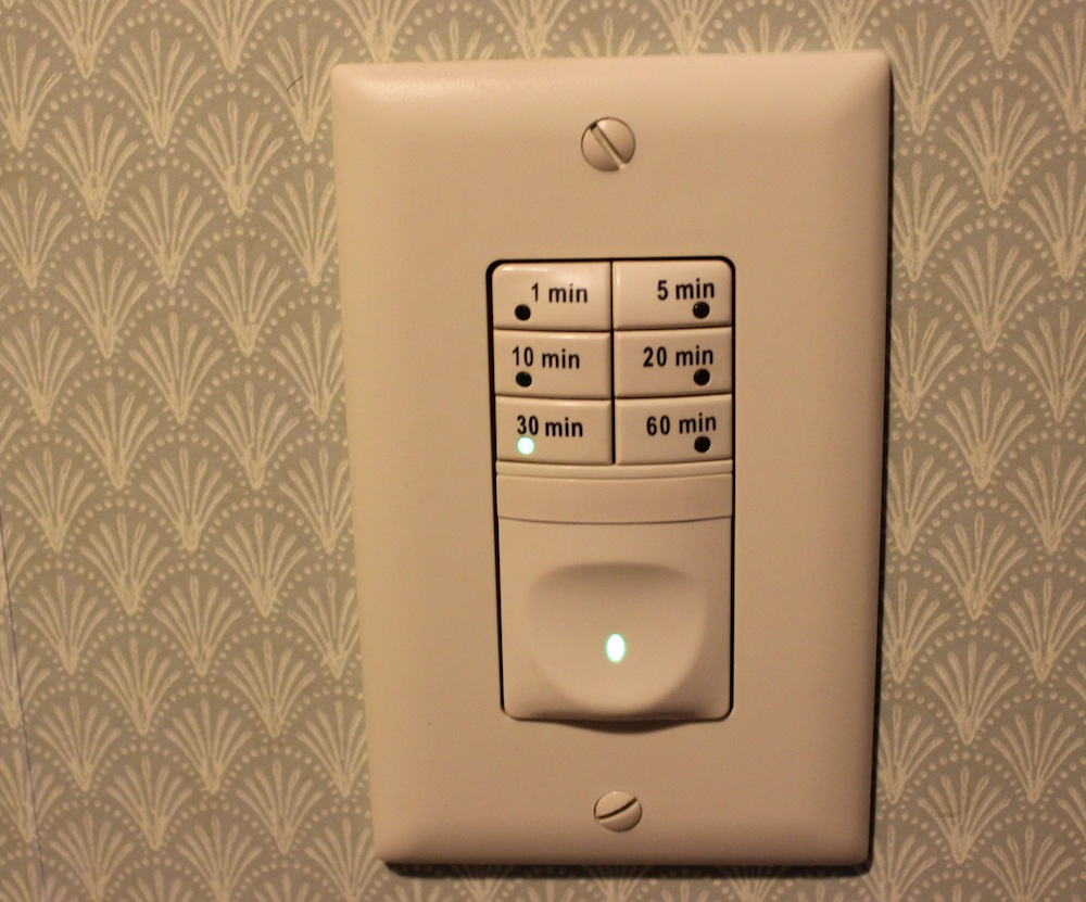 DewStop Humidity Control Review  Bathroom Fan Timer