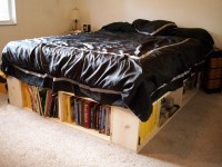 DIY Bed Frame with Storage Down Under