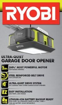 Ryobi Garage Door Opener Review - Plug n Play in your Garage