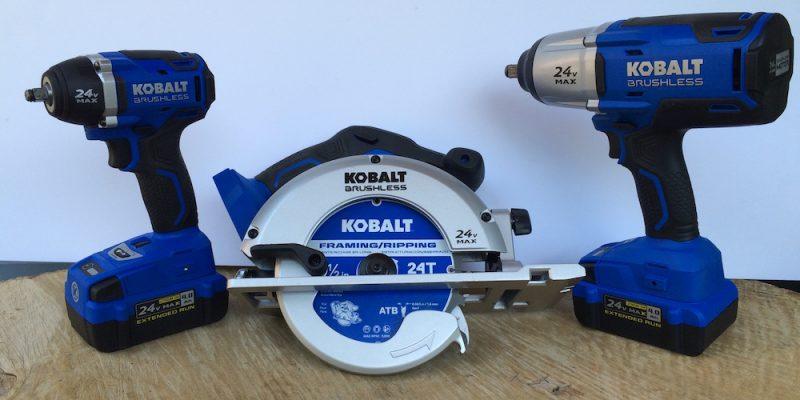 Kobalt Circular Saw 24v