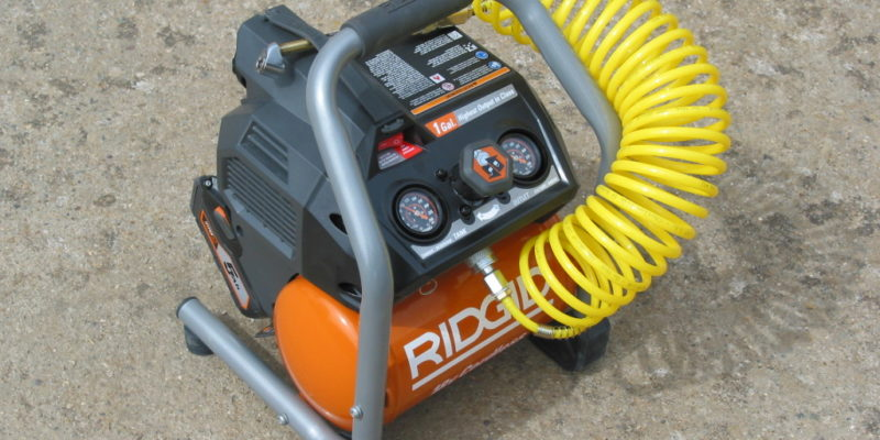 Rigid 25 Gallon Air Compressor