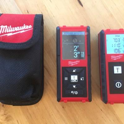 Milwaukee Laser Distance Meter – Measuring Up, Down and Sideways