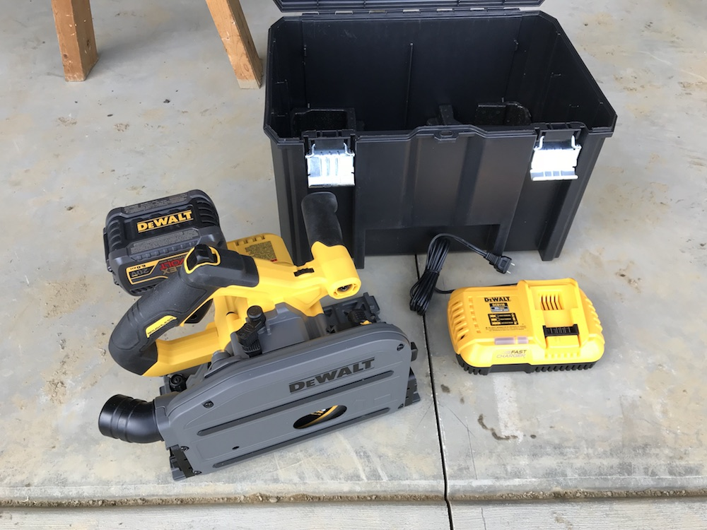 Dewalt Track Saw Kit