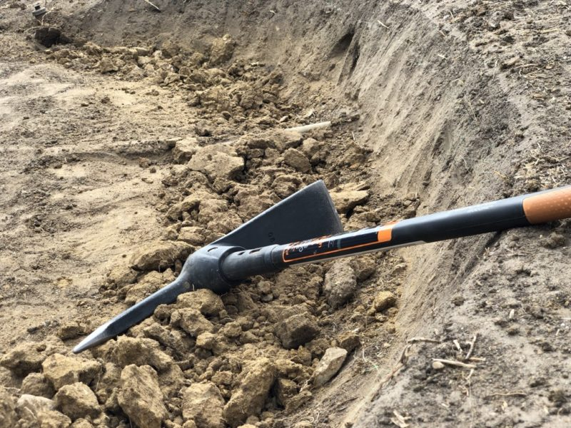 essential landscaping tools - pickaxe
