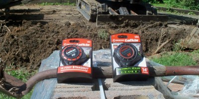 Lufkin Shockforce Tape Measures Up. . . and Over