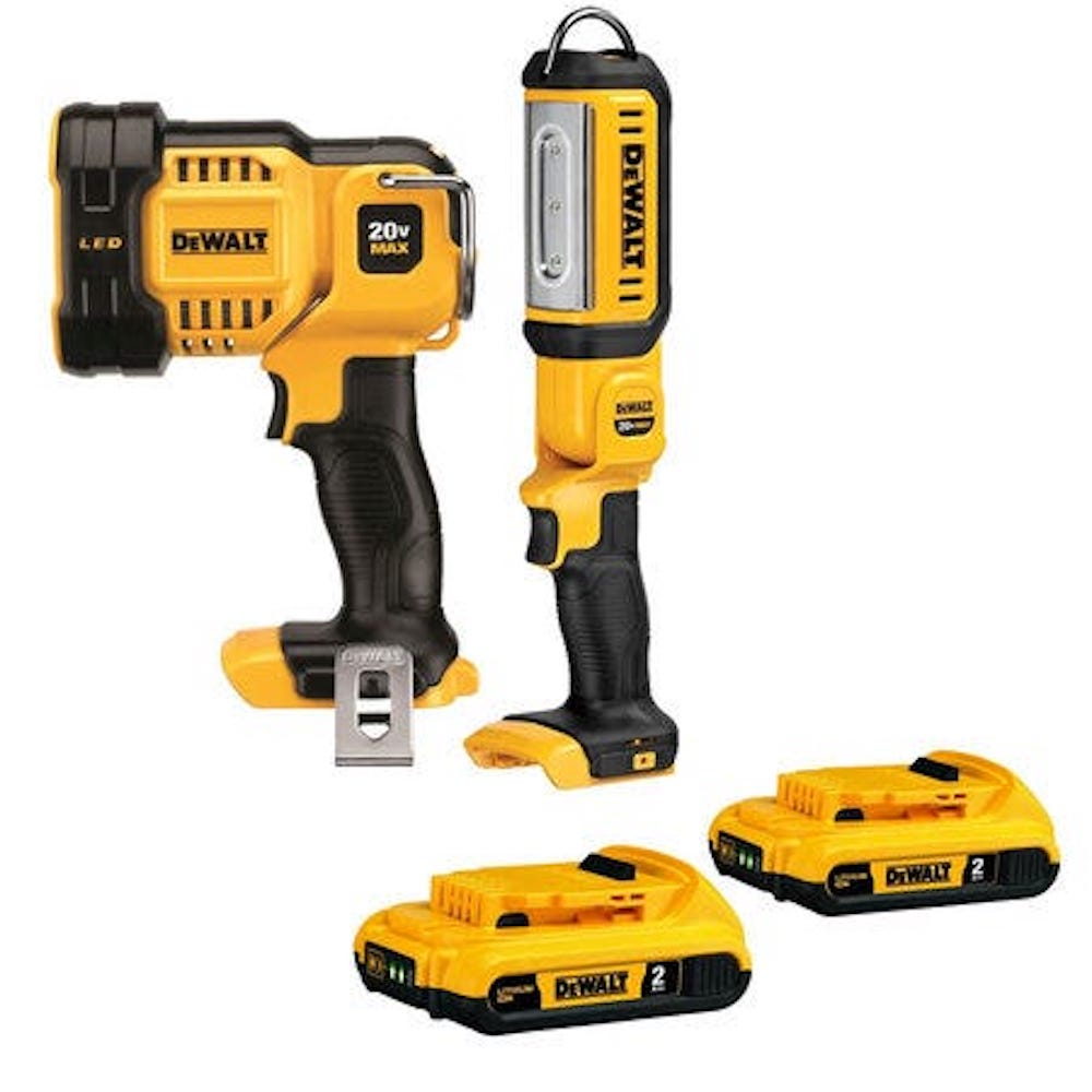 Dewalt spotlight flashlight