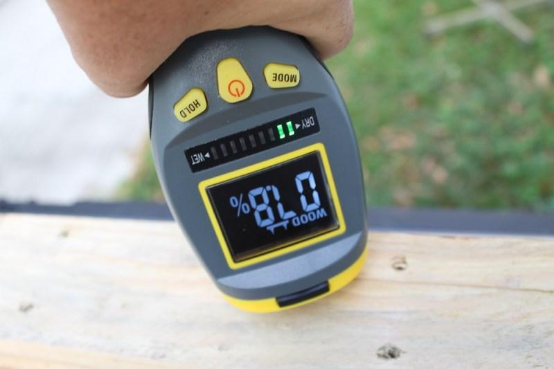 General MM9 moisture meter pin mode