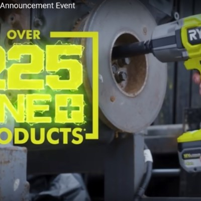 Hear ye! Ryobi Announces Over 25 New 18V ONE+ Tools!