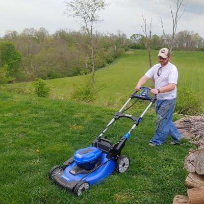 Kobalt 24V Cordless Mower Review – Going Green With A Blue Mower