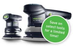 Festool Does Recon-Reconditioned Tools on the Cheap!