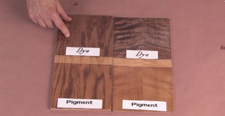 Dye and Pigment or Pigment then Dye?