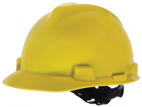 A basic hard hat can save you some painful bumps and gashes - well worth $10 for an inexpensive model