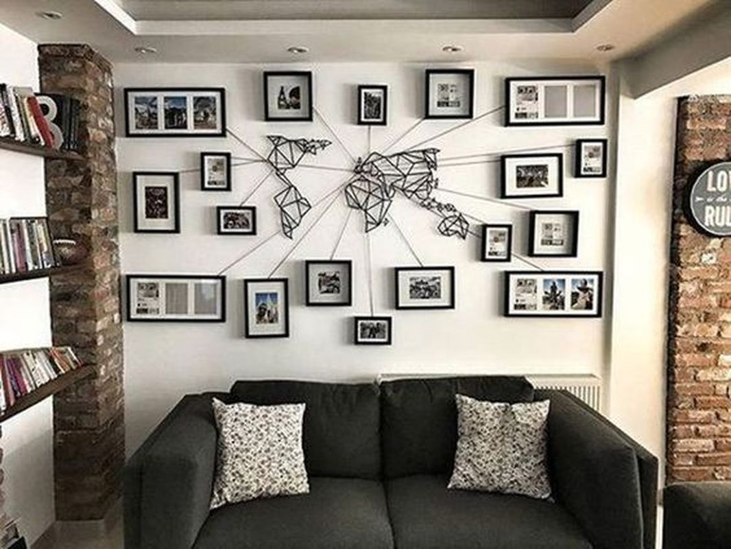 35 easy and cheap diy wall decor for living room  homeflish