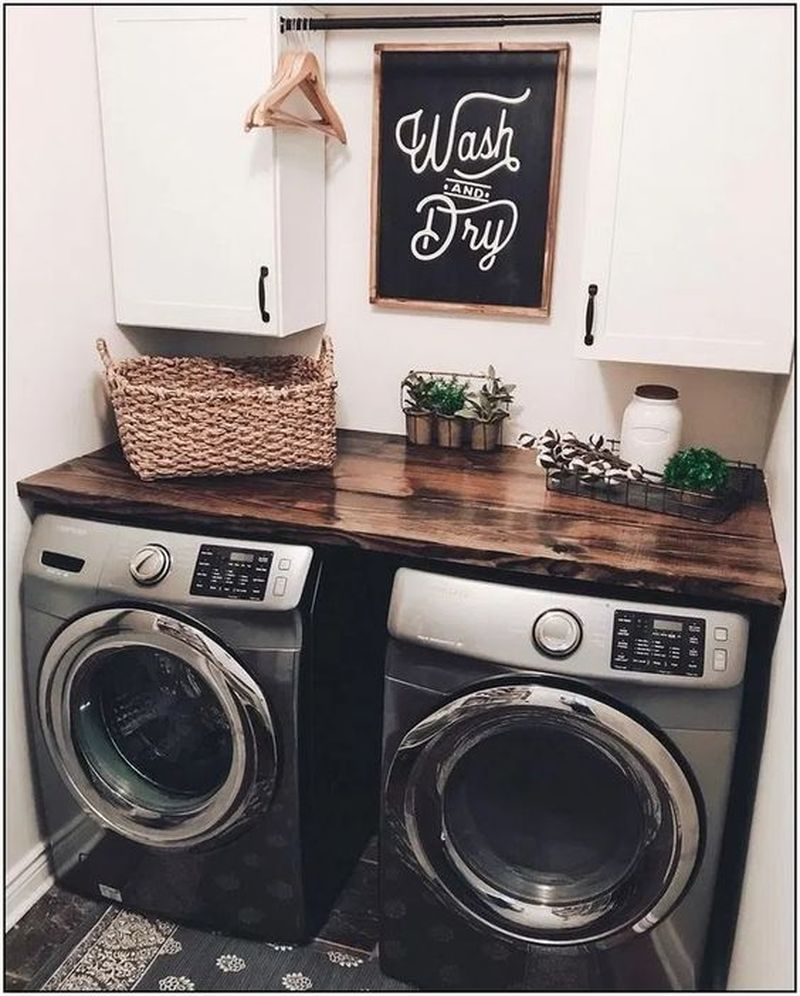 35 The Best Diy Small Farmhouse Laundry Room Ideas 2020 Homeflish