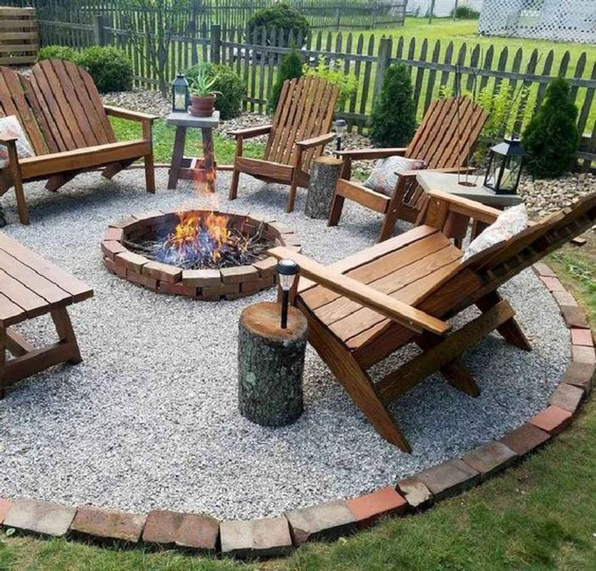 35 Easy DIY Fire Pit Ideas for Backyard Landscaping ...