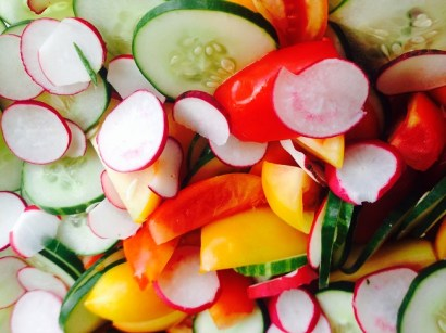 Ensalada de vegetales
