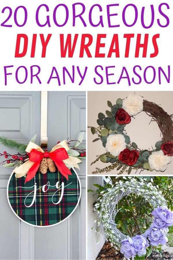 DIY Wreaths For Any Season - Several wreaths