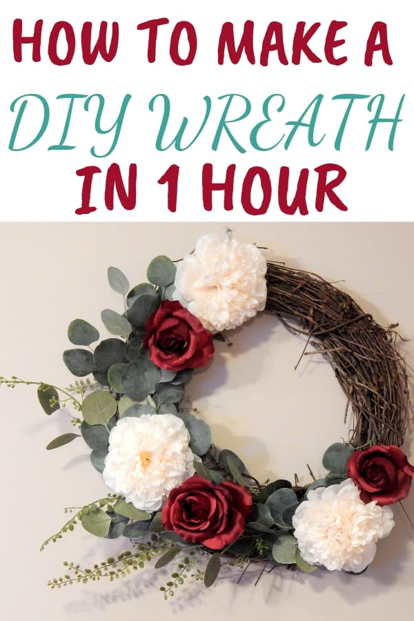 How To Make An Easy DIY Wreath In 1 Hour