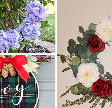 DIY Wreaths - Various styles of wreaths