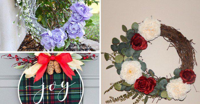 DIY Wreaths - Various styles of wreaths